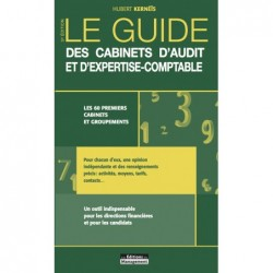 Le Guide des Cabinets d'audit et d'expertise-comptable,  version papier