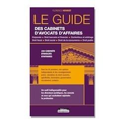 Le Guide des Cabinets d'Avocats d'Affaires, versions papier et numérique
